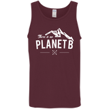 There-is-no-Planet-B---Science-Climate-Change-Men/Women-Tank-top-B8800-Bella-+-Canvas-Flowy-Racerback-Tank-Black-X-Small