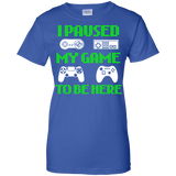 I-Paused-My-Game-To-Be-Here-Funny-Video-Gamer-Men/Women-T-shirt-Unisex-T-Shirt-Black-Small