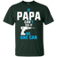 If-Papa-can't-fix-it-no-one-can-T-Shirt-Sport-Grey-S-