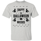Happy Halloween Witches - Baseball ringer tee - T-Shirt - Lime / S- Short Sleeve -TeeEver.com