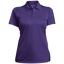 [TeeEver]-Ladies-Performance-Textured-Three-Button-Polo---No-Prints-P-Black/Gray-S-
