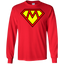 super-mom---mother-day-LS-Tshirt---Teeever.com-Sport-Grey-S-