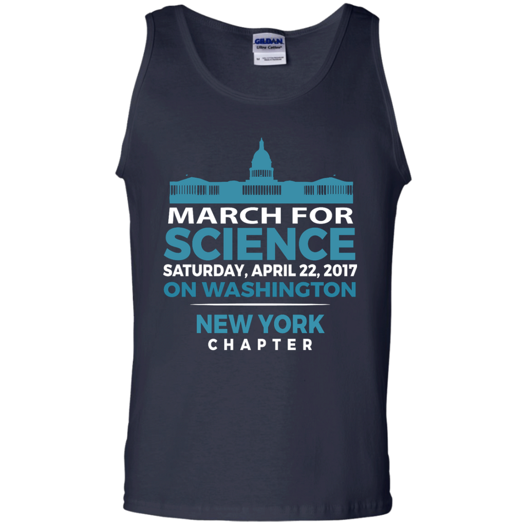 Cool-SciMarch-March-For-Science-NewYork-Chapter---Tank-top,-Women's-tank-top-100%-Cotton-Tank-Top-Black-S