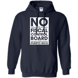 NO-to-fiscal-control-boad-for-puerto-rico-Pullover-Hoodie-8-oz-Black-S-