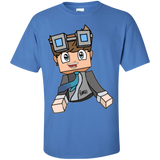 DanTDM-The-Diamond-MineCart-Shirt-Ash-S-
