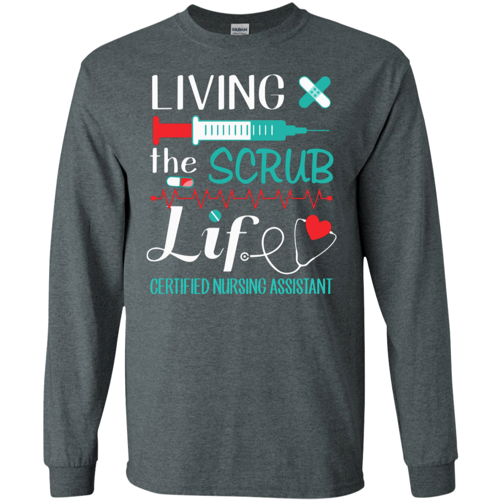 CNA-Certified-Nursing-Assistant---Gifts-For-Christmas-LS-T-Shirt-Sport-Grey-S-