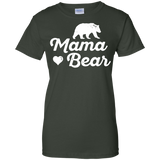 Women's-Mama-Bear-shirt-for-Mother's-day---for-Mom-Ladies-T-Shirt---Teeever.com-Black-XS-