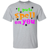 I-put-a-spell-on-you,-funny-halloween-Youth-Ultra-Cotton-T-Shirt-Light-Blue-YXS-