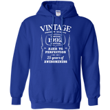 25th-Birthday-Gift---Limited-1992-Edition-Pullover-Hoodie---Teeever-Black-S-