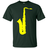 LIVE-NICE---SAXOPHONE---Men/Women-T-Shirt-Custom-Ultra-Cotton-T-Shirt-Black-S