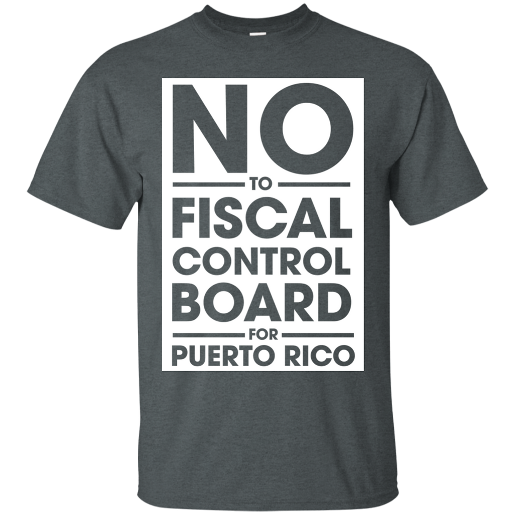 NO-to-fiscal-control-boad-for-puerto-rico-Black-S-