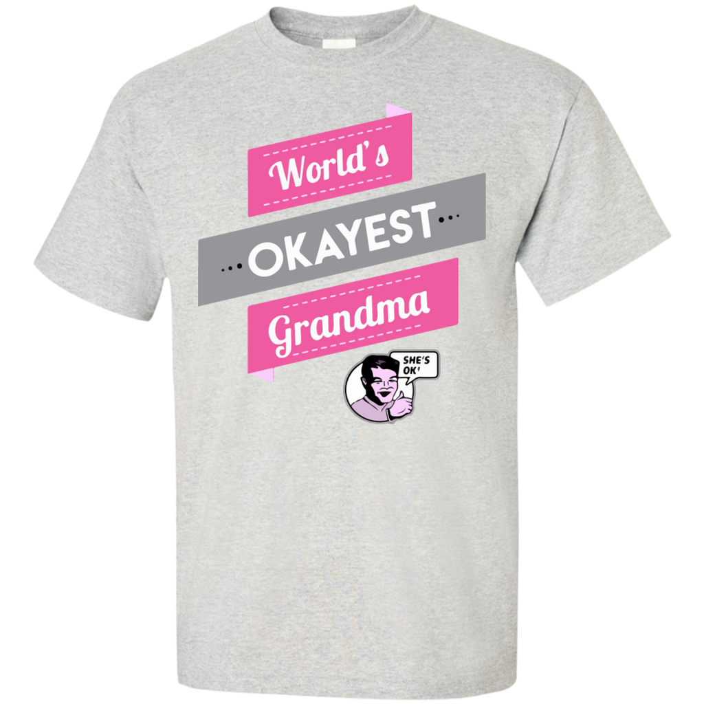 World's-okayest-Grandma-Custom-Ultra-Cotton-T-Shirt-Sport-Grey-S-