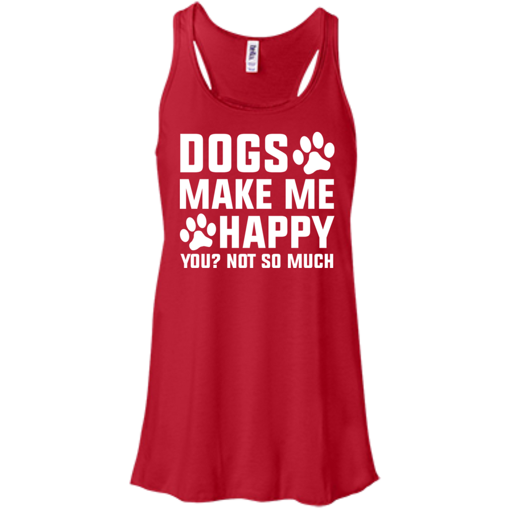 Dogs-make-me-happy-You-Not-so-much-Racerback-Tank-True-Royal-XS-