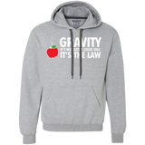 Gravity-it's-not-just-a-good-idea-it's-the-law-Heavyweight-Pullover-Fleece-Sweatshirt-Sport-Grey-S-