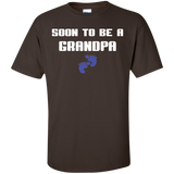 Soon-to-be-a-grandpa-Custom-Ultra-Cotton-T-Shirt-Black-S-