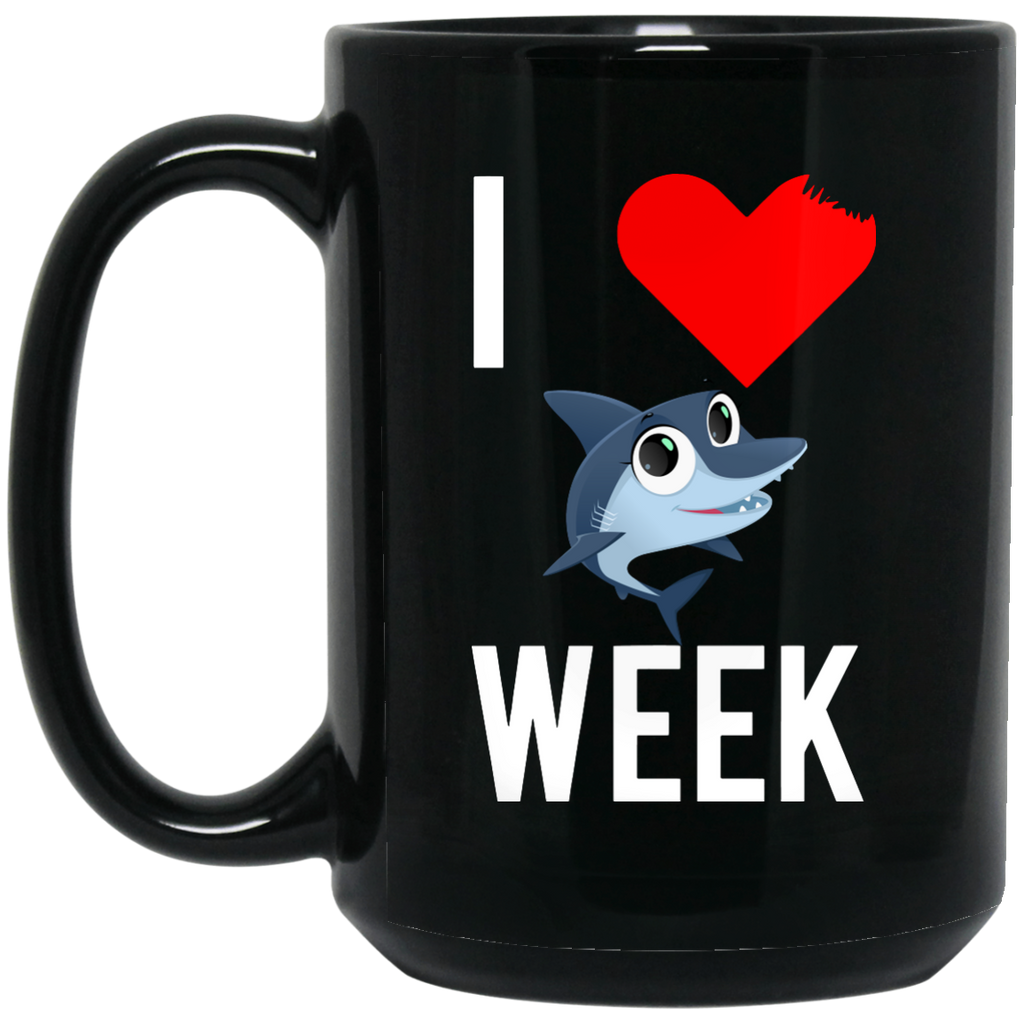 I-Love-Shark-15-oz.-Black-Mug-Black-One-Size-