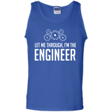 Let-me-through,-I'm-the-engineer-Tank-Top-Shirt-Sport-Grey-S-