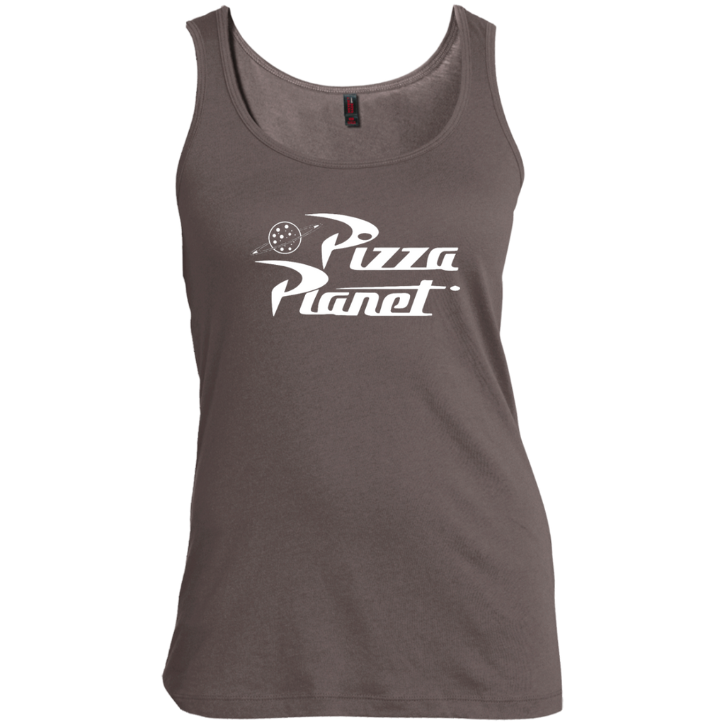 9aec4ade6910b9 Toy Story Pizza Planet Logo Graphic Women s Tank Top – TeeEver