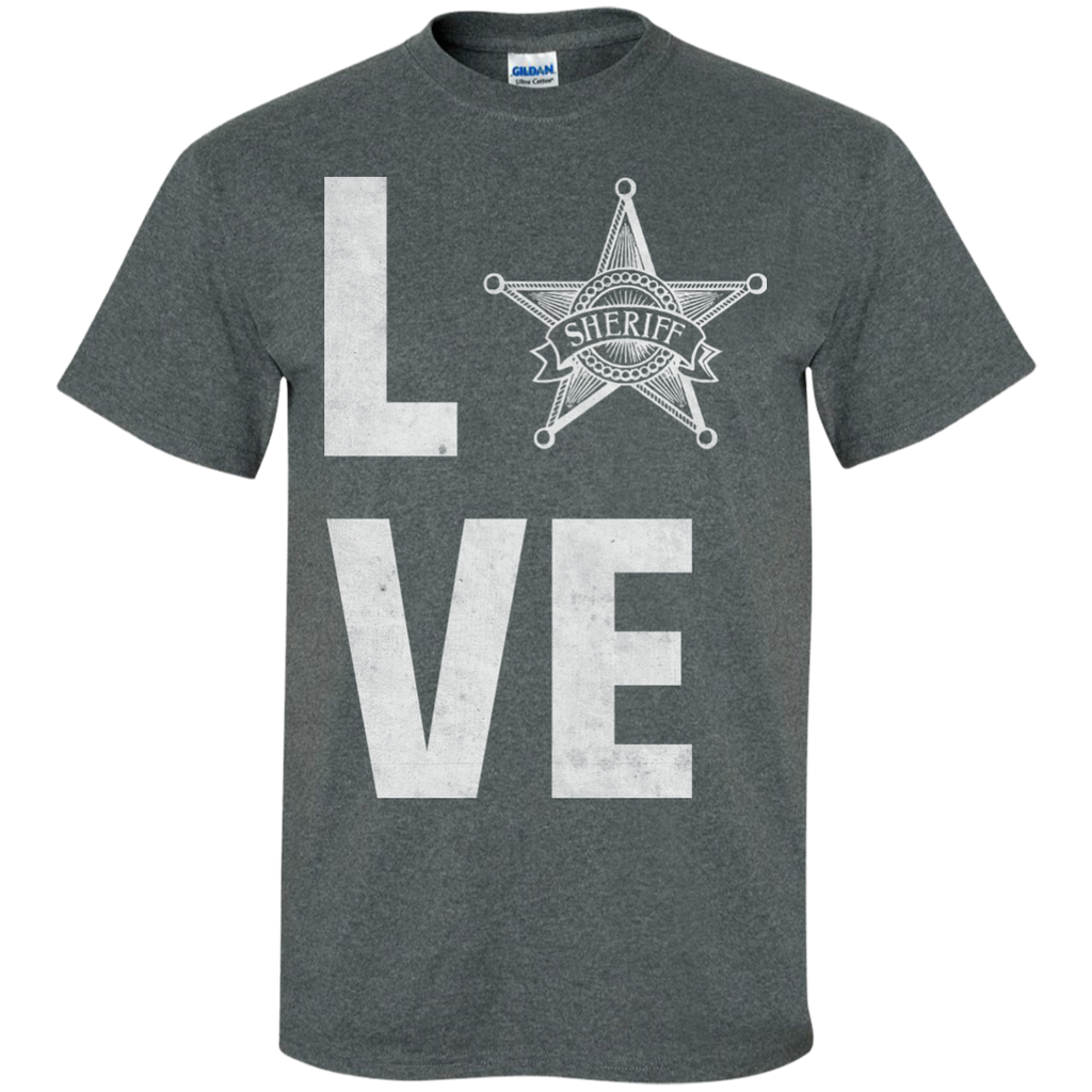 Love-Sheriff-Vintage-Custom-Ultra-Cotton-T-Shirt-Black-S-