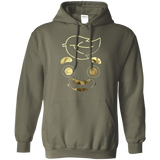 Guava-Juice-Limited-Edition-Gold-Foil---Camouflage-Pullover-Hoodie-8-oz-Black-S-