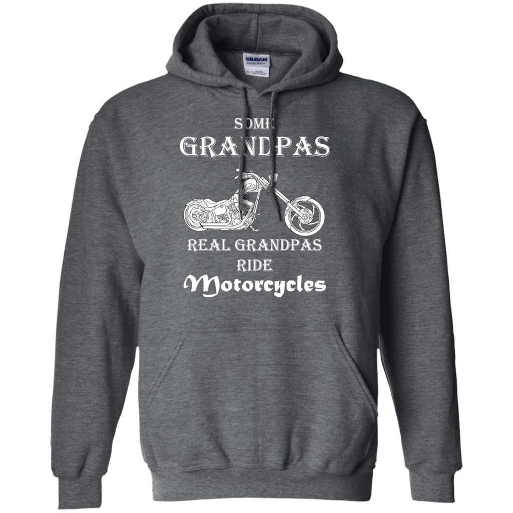 Real-grandpas-ride-Motorcycles-Pullover-Hoodie-8-oz-Black-S-