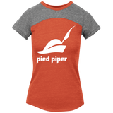 Piped-Piper-Logo---Silicon-Valley-Juniors'-Tri-Blend-Vintage-Tee-Vintage-Pink/Vintage-Grey-XS-
