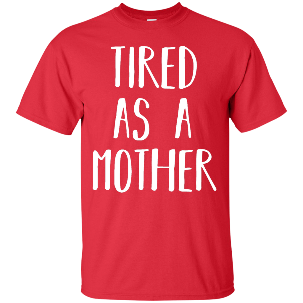 Cute-Tired-as-a-Mother---Perfect-Mom-Gift-T-Shirt---Teeever.com-Black-S-