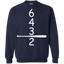 Classic-Baseball-6-4-3-2-Double-Play-Crewneck-Pullover-Sweatshirt-8-oz-Black-S-