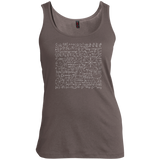 Math-Equation-T-Shirt-Cool-Quadratic-Formula-Geek-Nerd-Women's-Tank-Top-Warm-Grey-XS-