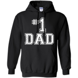 #1 Dad Number One Father's Day Vintage Style Hoodie - TEEEVER