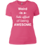 Weird-is-a-side-effect-of-being-awesome-Tee-Heather-Grey-XS-