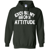 Excuse-My-Bronx-New-York-Attitude-Funny-NY---Long-Sleeve-LS,-Sweatshirt,-Hoodie-LS-Ultra-Cotton-Tshirt-Black-S