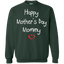 Happy-Mother's-Day-Mommy---Children's-Perfect-Gift-Pullover-Sweatshirt---Teeever.com-Black-S-