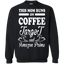 Women's-Women's-This-mom-runs-on-coffee,-target-and-..-Pullover-Sweatshirt---Teeever.com-Black-S-