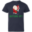 Christmas,-santa,-funny,-bottoms-up-Youth-Jersey-Tee-White-YXS-