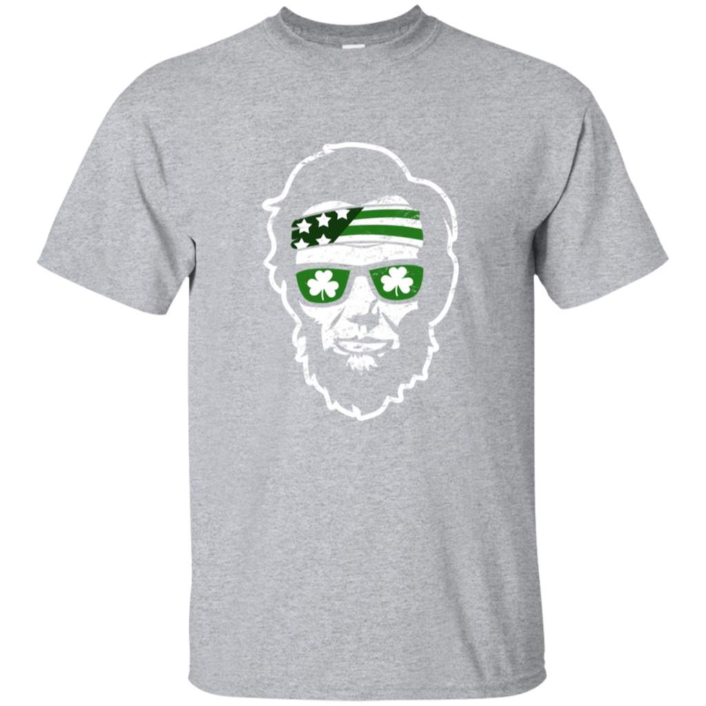 79b213d9 St. Patrick's Day Abe Lincoln Presidents Murica Men's T-Shirt – TeeEver