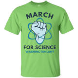 March-For-Science-Washington---Men/Women-T-Shirt-Custom-Ultra-Cotton-T-Shirt-Sport-Grey-S