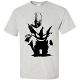 Pikamon-Shirt-Poke-Go-Ghost-monster-2-Sport-Grey-S-