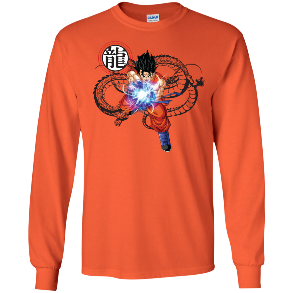Ripple-Junction-Dragon-Ball-Z-Goku-Fireball-LS-Tshirt---Teeever.com-White-S-