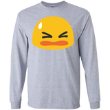 frown-icon-LS-Ultra-Cotton-Tshirt-Sport-Grey-S-