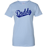 Daddy-est.-2016-Ladies-Custom-100%-Cotton-T-Shirt-Sport-Grey-XS-