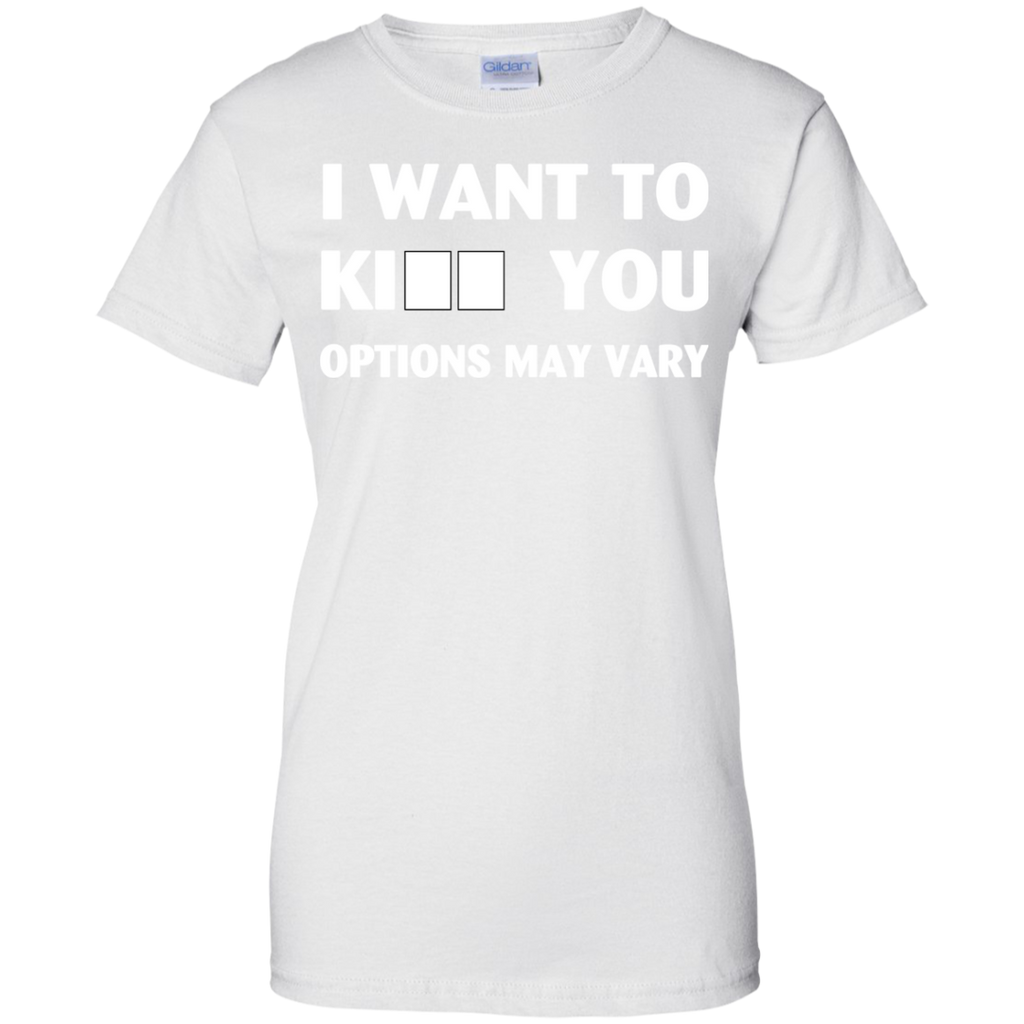 i-want-to-__-options-may-vary-Ladies-Custom-100%-Cotton-T-Shirt-Sport-Grey-XS-