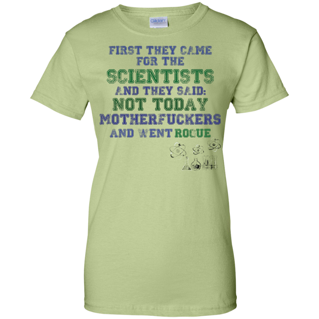Funny-Science-March-USA-Protest-Resist---Men/Women-T-Shirt-Custom-Ultra-Cotton-T-Shirt-Sport-Grey-S