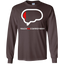 Ten-Percent-of-Your-Brain---Long-Sleeve-LS,-Sweatshirt,-Hoodie-LS-Ultra-Cotton-Tshirt-Black-S