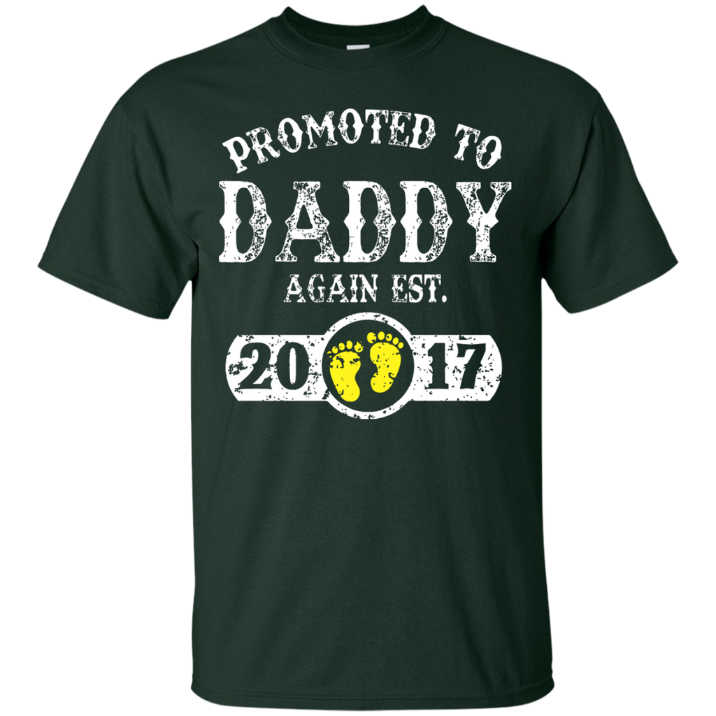 Promoted-to-Daddy-Again-Est-T-Shirt---Teeever.com-Black-S-