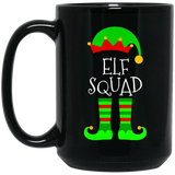 Elf-Squad-Matching-Family-Group-Christmas-Black-mugs-BM11OZ-11-oz.-Black-Mug-Black-One-Size