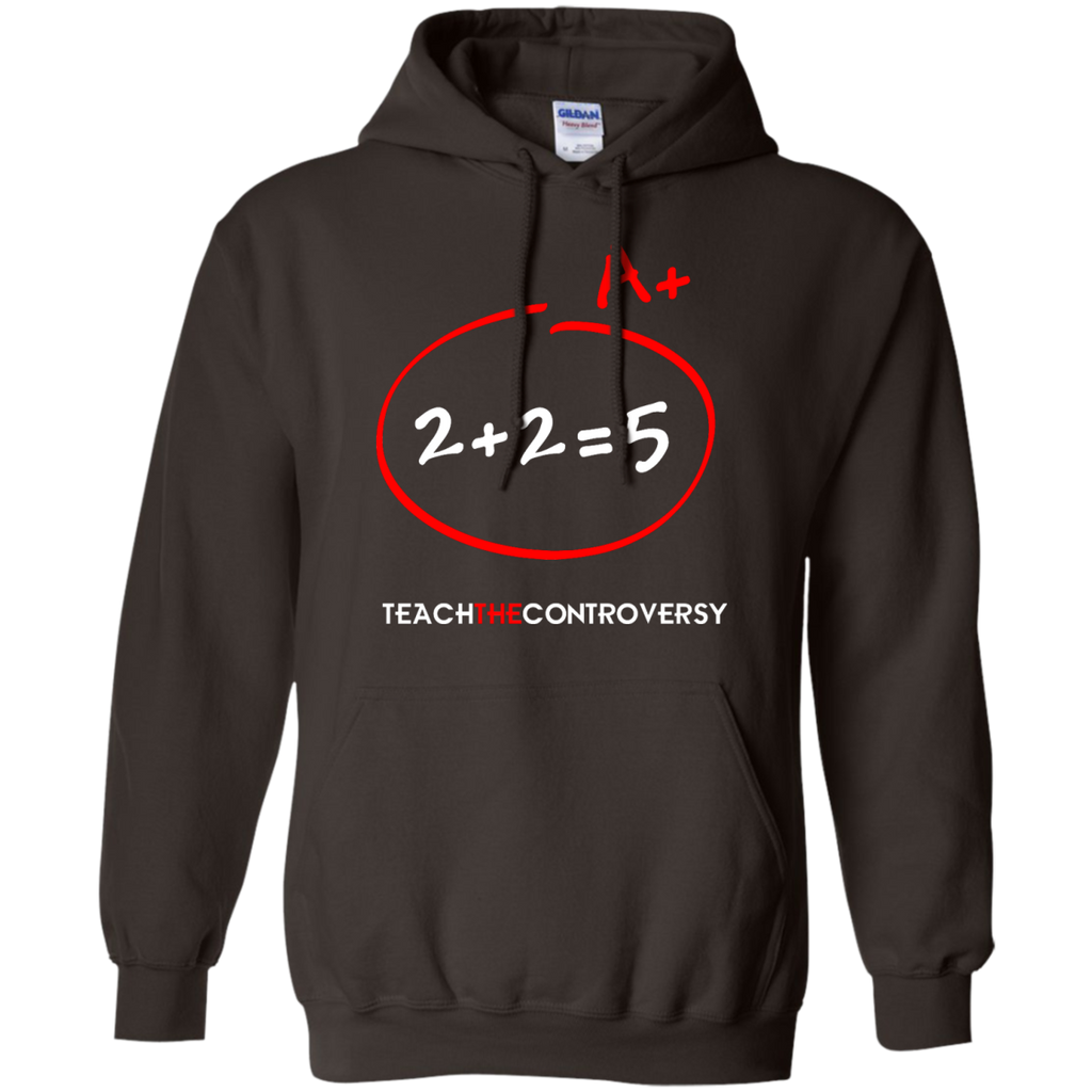 DOUBLETHINK-(2-+-2-=-5)---Long-Sleeve-LS,-Sweatshirt,-Hoodie-LS-Ultra-Cotton-Tshirt-Black-S