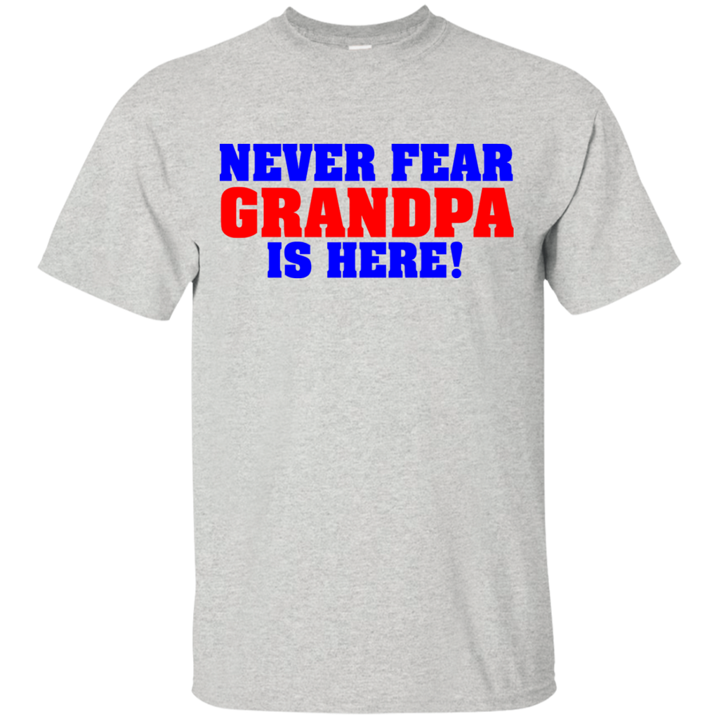 Never-Fear-Grandpa-is-here-Sport-Grey-S-