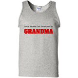 Great-Moms-Get-Promoted-to-Grandma-100%-Cotton-Tank-Top-Ash-S-