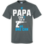 If-Papa-Can't-fix-it-No-one-can-T-Shirt-Black-S-